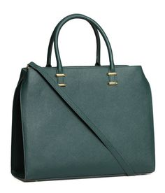 H&M Handbag Dark Green