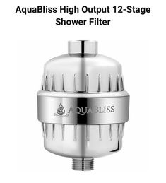 Aquasana AQ-4100 Deluxe Shower Water Filter System #showerfilter #showerfilters #showerwaterfilter #showerfiltersystem #showerhead #showerheadfilter #showerheads Shower Water Filter, Shower Head Filter, Best Bathtubs, Shower Heads, Filters, Showers, Rain Shower Heads