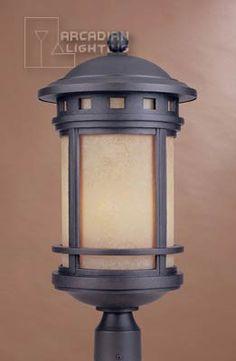 Sedona energy efficient outdoor post lantern