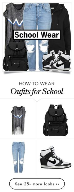 Back to School Style White High Top Converse, White High Tops, Black White, Cute Lazy Outfits, Fall Outfits, Casual Outfits, School Wear, Back To School Outfits, School Fashion