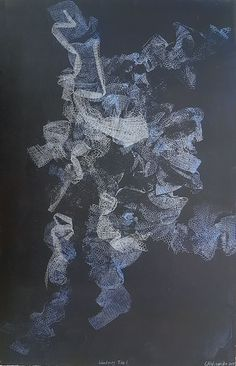Abstract Monotype Prints For Sale   Wandering   StateoftheART