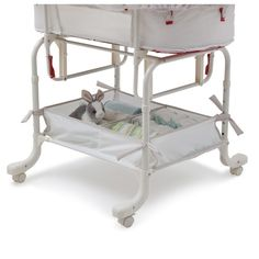 Found it at Wayfair - Simmons Deluxe Sand Castle Gliding Bassinet
