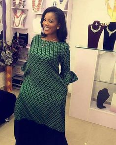 If you an ankara fashionable woman and you need good ankara dresses to rock then here are some lovely ankara gowns that will give you what you want. These ankara dresses come in different styles and designs and will give you that unique look you deserve. African Dresses For Women, African Print Dresses, African Attire, African Wear, African Fashion Dresses, African Women, African Outfits, African Inspired Fashion, African Print Fashion