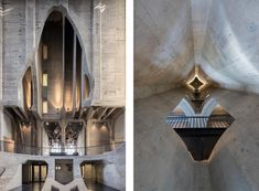 Heatherwick Studio has completed in Cape Town the Zeitz MOCAA, the world's largest museum dedicated to contemporary art from Africa and its diaspora. Grain Silo, Laminated Glass, Concrete Building, African Artists, Reinforced Concrete, Space Gallery, Exhibition Space, Atrium