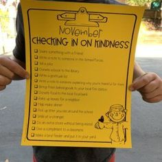 Checking in on Kindness | Encourage your students to be kind to everyone with these editable checklists!