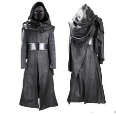 Star Wars The Force Awakens Kylo Ren Costume Ensemble with Helmet