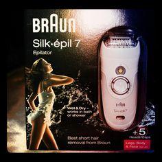 MichelaIsMyName: Braun Silk-épil 7 Epilator