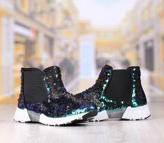 Pantofi Casual Dama Albastru Verde Cod: 336p Air Max Sneakers, Sneakers Nike, Rubber Rain Boots, Nike Air Max, Casual, Shoes, Fashion, Green, Nike Tennis Shoes