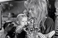 9 Labyrinth secrets from the man who made it David Bowie Labyrinth, Labyrinth Film, Labyrinth Goblins, Jim Henson Labyrinth, Glam Rock, Labrynth, Tv Show Music, Goblin King, The Dark Crystal