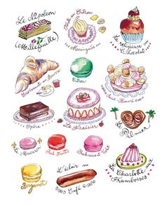 french food with names - Google Search