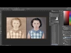 Timelapse Video of a Damaged Black & White Portrait Restored and Colorized by Joaquin Villaverde | Colossal