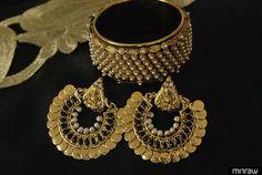 Ram leela earrings with moti kada