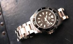 Orient Mako XL or Ray | 20 Great Looking Watches Under $200 on Dappered.com