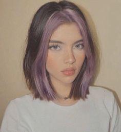 Hair Color Streaks, Blonde Hair With Highlights, Hair Dye Colors, Cool Hair Color, Hair Streaks Blonde, Grunge Hair, Aesthetic Hair, Aesthetic Fashion, Dyed Hair