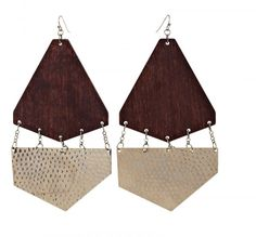 Spring fashion 2013 must haves wooden jewellery.