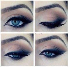 Beautiful eyeliner #eyes #makeup #eyeliner #winged #edressme #winter