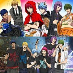This official poster tho😂😍😍 Anime Figures, Anime Characters, Desenhos Love, Netflix Anime, Kiseki No Sedai, Akakuro, Generation Of Miracles, Gekkan Shoujo Nozaki Kun, Kuroko Tetsuya