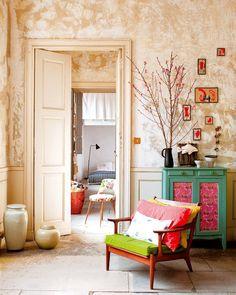 Une atmosphère cosy et gaie - Marie Claire Maison