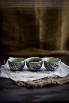 a cup of tea for 3, japanese style