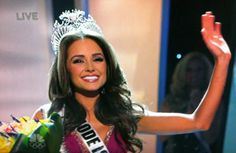 Miss Rhode Island, Olivia Culpo, is crowned Miss USA 2012