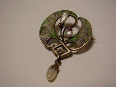 Else Strauss Art Nouveau Ginkgo designs - Поиск в Google