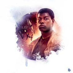 Star Wars: o Despertar da Força em belíssimas ilustrações