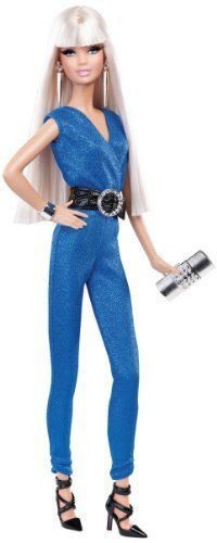 NEW Barbie The Look: Blue Jumpsuit Barbie Doll #Barbie