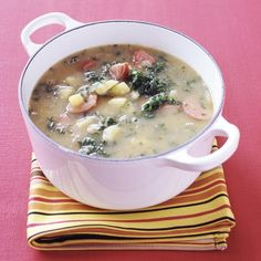 Looks very similar to my favorite soup (Zuppa Toscana) at Olive Garden.