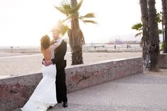 Our bride Claudia in the Katie May Verona gown with her handsome groom