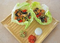 Mexican-Style Lettuce Wrap