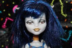 Monster High Custom Ooak Gargoyle Wendigo Doll Highly Detailed | eBay