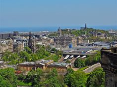 Edinburgh, a View from the Castle ..(146/366)