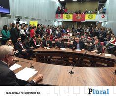 Trabalhos da CPI da Merenda começam na terça-feira - Leia: http://fb.com/jornalpluralsp  - Foto: Divulgação - Twitter