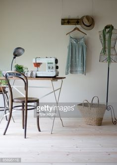 Stock Photo : A girl's room