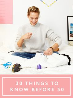 30 things you need to learn before turning 30