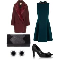 """""""The Ultimate Holiday Outfit"""" by onnaehrlich on Polyvore"""