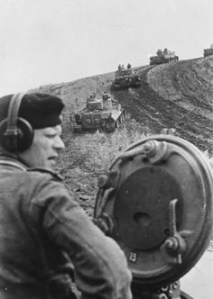 A division of Tiger 1 tanks operating in the area of Bjelgorod, Russia