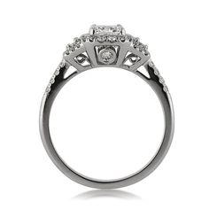 1.96ct Cushion Cut Diamond Engagement Anniversary by MarkBroumand