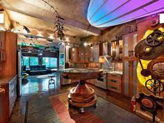 A Retro-Industrial Steampunk Loft For Sale in NYC