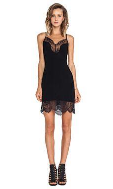 Lovers + Friends lace slip dress