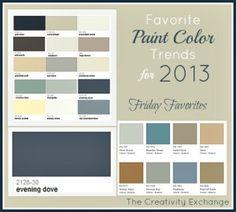 Popular Interior Colors 2013 Room Paint Ideas 300x270 2013 Top Paint Colours