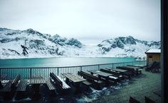 #beautifulworld  So schön kann Schnee sein! #lünersee#brandnertal