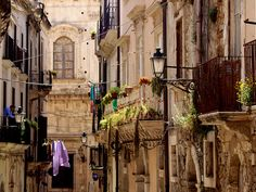 Siracusa - ancient Greek, notable for its rich Greek history, culture, amphitheatres, architecture and formally one of the great powers of the Mediterranean