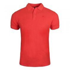SCOTCH & SODA Garment-dyed Cotton Piqué Poloshirt masala red