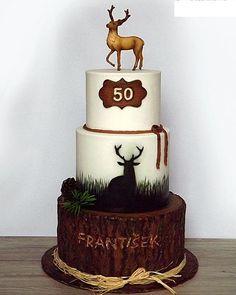 Deer Hunter 50th Birthday Cakes for Men