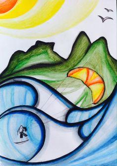 Rj - Rio de Janeiro - Live paint - Sketchbook - Aquarela