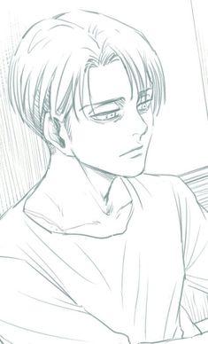 Levi Levi X Petra, Levi And Erwin, Levi X Eren, Armin, Ereri, Levihan, Anime Boy Sketch, Life Size Statues, Rivamika