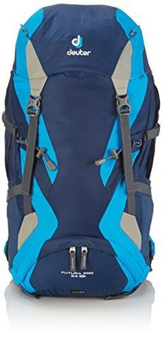 Deuter Futura Pro 34 SL Backpack  MidnightTurquoiseSilver *** See this great product.