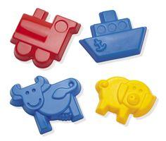 Formine grandi http://www.borgione.it/Giocare-con-acqua-a-sabbia/Attrezzi-e-giochi-per-acqua,-sabbia,-giardinaggio/Formine-grandi---8-pezzi/ca_5009.html