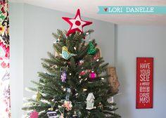 Star Christmas Tree Topper DIY Pattern |  Lori Danelle